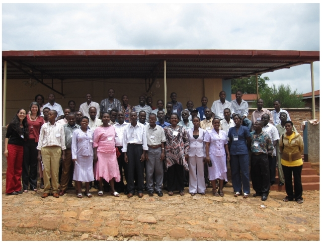 Peace education instructors, Burundi