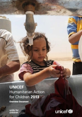 UNICEF's Humanitarian Action for Children 2013 Report