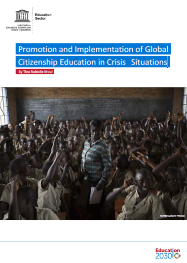 Promotion and implementation of GCED in crisis situations
