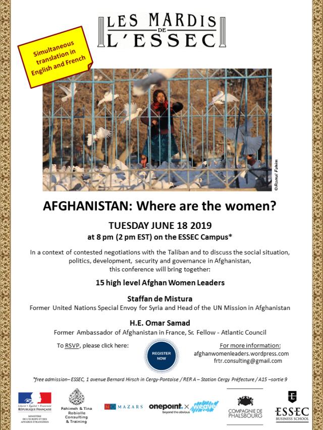 Affiche Conférence Afghanistan Mardis 2019 English final sans deadline.png